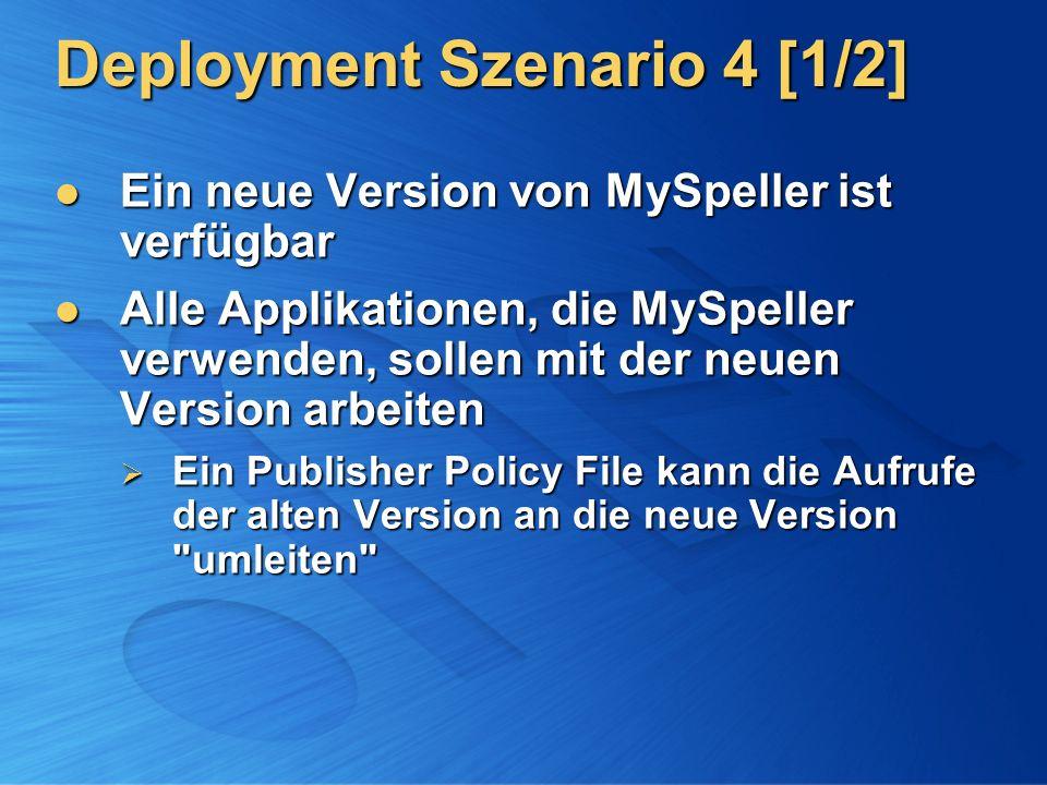 Deployment Szenario 4 [1/2]
